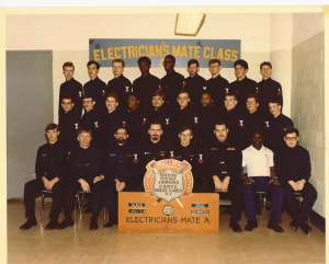 "U.S. Navy Electrician's Mate ""A"" School class 8017-B"