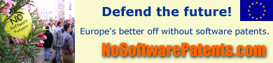 Oppose EU Software Patents